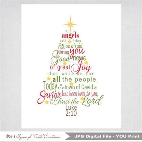 the truth about christmas decorations with bible verses tree printable scripture with luke 2 bible verse in green and instant