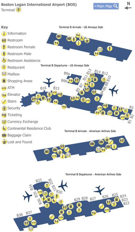 terminal b logan map boston logan airport terminal map 2017 2018 best cars