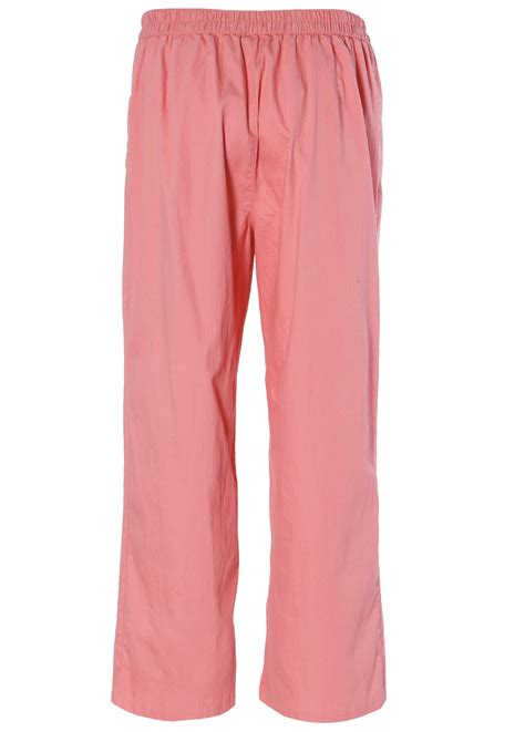 Soft Trouser Pant womens soft casual pull on elastic high waist