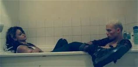 rihanna bathtub video does rihanna s we found love video depict the death of