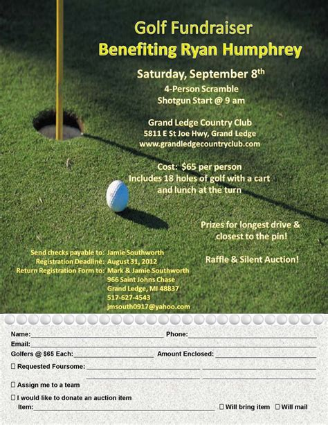 golf outing flyer template 97 best images about flyer ideas templates on rodeo photoshop and fundraisers
