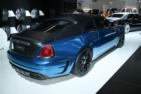 Frankfurt 2015 Mansory Rolls Royce Wraith Gtspirit