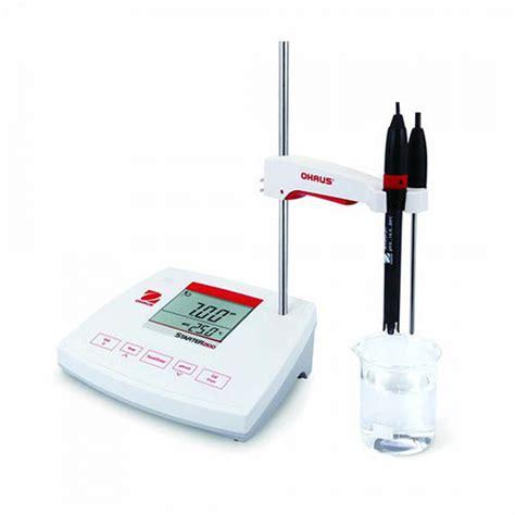 bench ph meter ohaus st2100 f starter 2100 bench ph meter with electrode