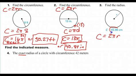 Radius Finder How To Find The Radius Given The Circumference