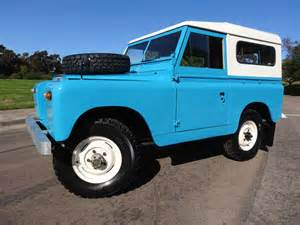 1962 land rover series iia classic land rover defender