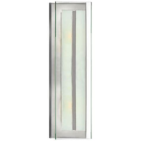 Sconce Backplate Hinkley Latitude 21 1 2 Quot High Brushed Nickel Wall Sconce
