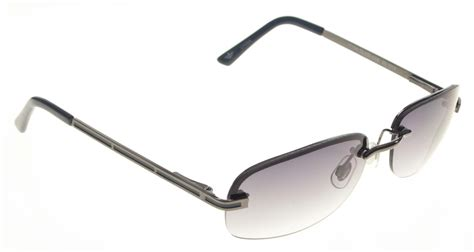 dockers s gunmetal semi rimless sunglasses clothing bags accessories s