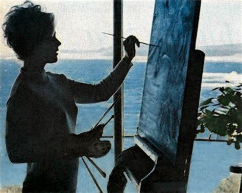 painting at home kim novak artist