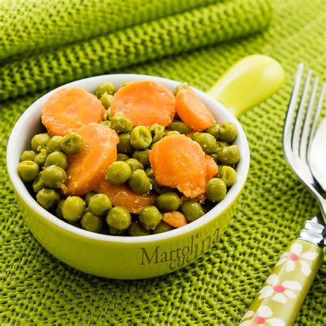 come cucinare le carote come contorno carote e piselli ricetta facile contorno veloce