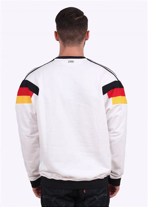 Sweater Germany adidas originals og dfb beckenbauer germany crew sweater white