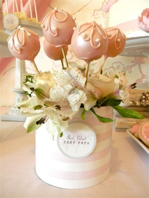 Cake Pops   Pretty in Pink & Pearls Shower   Cake, Cake