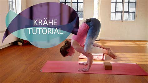 youtube tutorial yoga kr 228 he tutorial yoga kr 228 he kakasana in einfachen