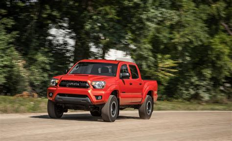 2015 Toyota Tacoma Trd Car And Driver