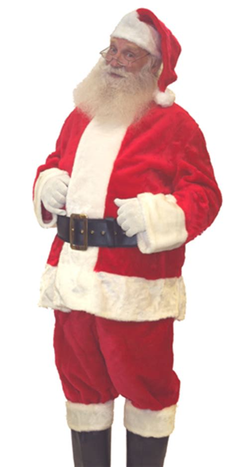 rental quality santa suit