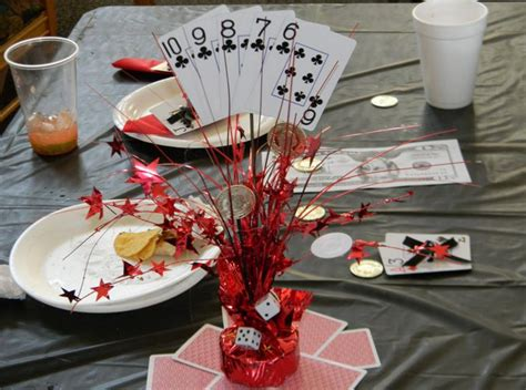 Casino Themed Party Good Ideas Home Party Theme Ideas Vegas Themed Centerpieces