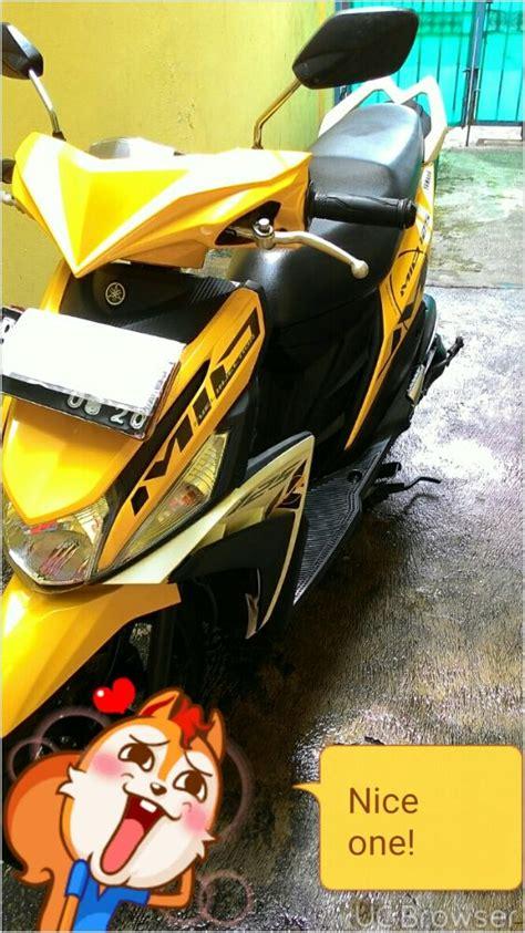 Yamaha Mio M3 Mulus Mengkilap mio m3 125 bulan 8 mulus jual motor yamaha mio