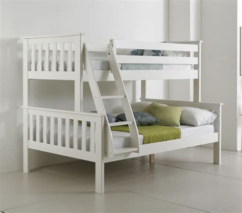 Bunk Beds And Mattresses Bluemoon Beds 4ft Atlantis Sleeper Bunk Bed Solid Pine 2xluxury Mattress Ebay
