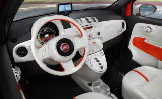 Fiat 500 Interior Car And Driver