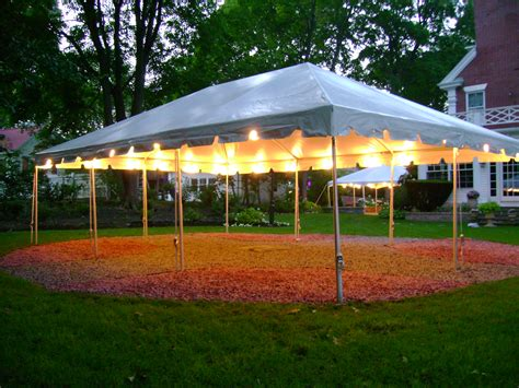 backyard wedding tent rental tent accessories to make your event a success