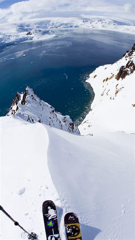 wallpaper antarctica 5k 4k wallpaper 8k skiing travel