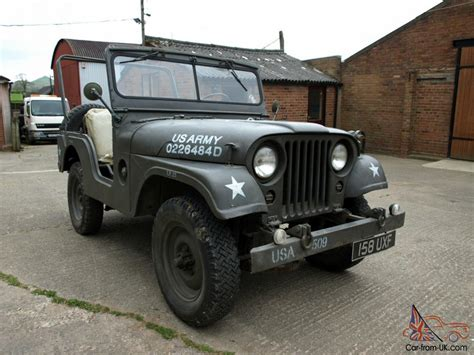 1953 Willys Jeep Willys Jeep M38a1 1953 American Usa Army Classic