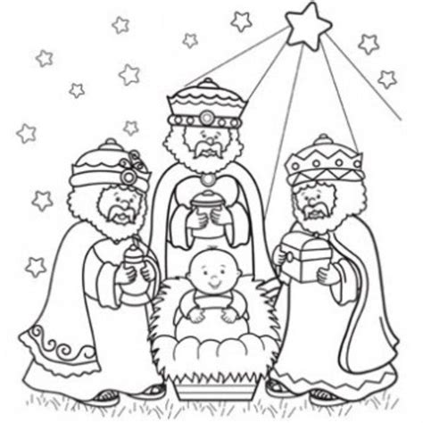 Wisemen Coloring Page 1000 ideas about three wise on nativity