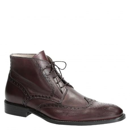 Italian Handmade Boots - handmade italian dress boots for in brown leather