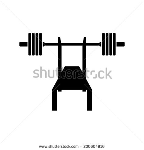 cartoon bench press press cliparts