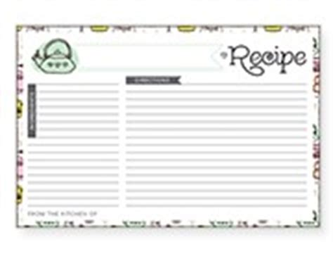 recipe card templates avery 8386 avery design print recipe binder templates