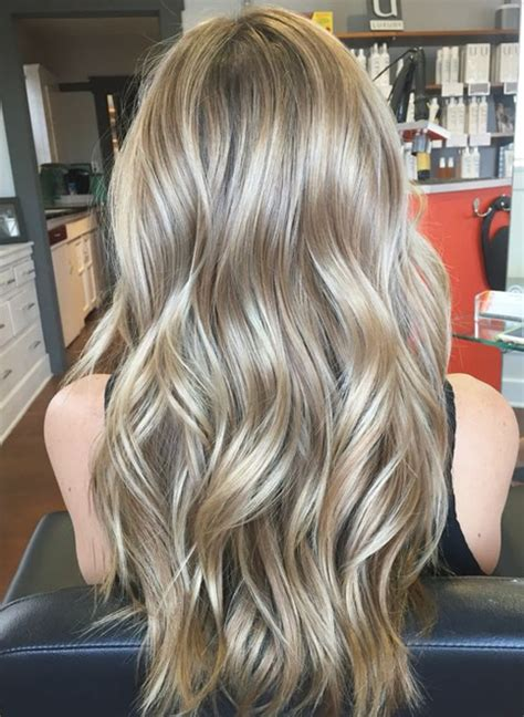 platinum silver hair color trends  winter spring