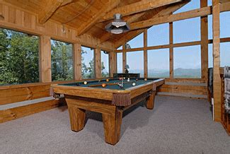 branch brook pool tables cliffhanger bluff mountain acres cabin 300 luxury