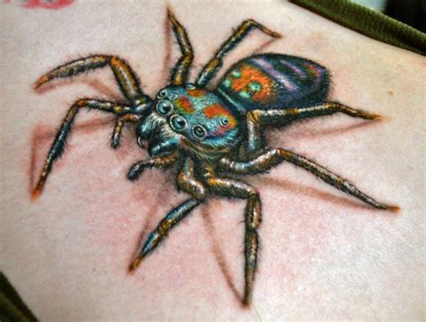 tattoo freakout jumping spider thismight be the coolest idea