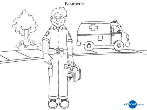 Paramedic Coloring Pages ems coloring pages free printables coloring pages
