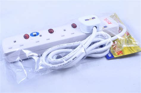 4 GANG EXTENSION WIRE   Welcome to Jiwa Book Store Sdn Bhd