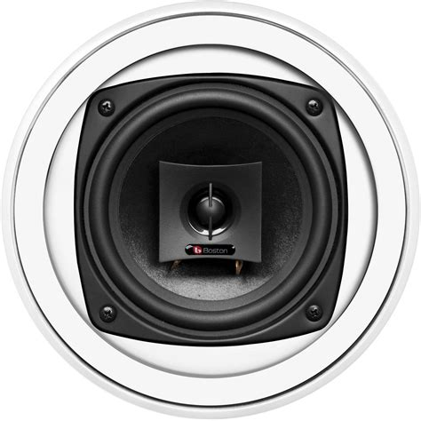 Boston Acoustics Ceiling Speakers boston acoustics hsi 250 5 25 quot 2 way hsi250 0xx00 b h photo