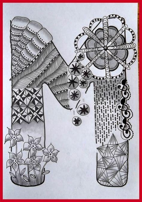 printable zentangle alphabet tekenpraktijk de innerlijke wereld abc tangled alphabet