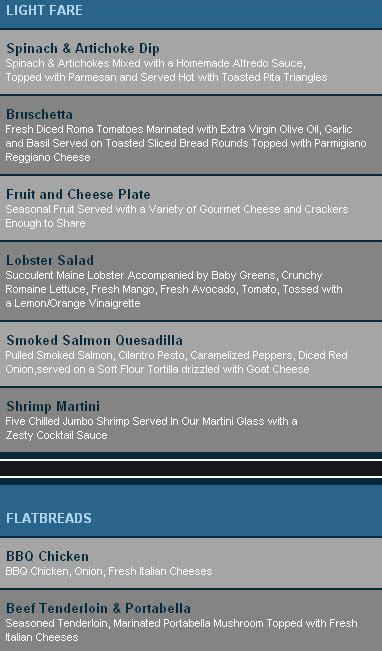 blue martini menu blue martini naples coupon discount menu 9114
