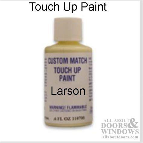 larson touch  paint color matched  storm door