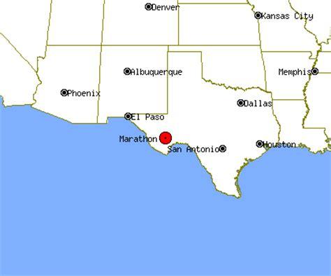marathon texas map marathon profile marathon tx population crime map