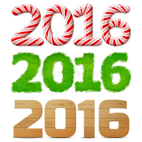 new year 2016 wood new year 2016 of stick of paper of wood stock
