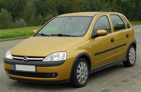 opel corsa 2002 opel corsa 1 4 2002 auto images and specification