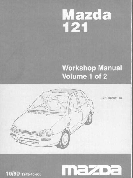 auto repair manual free download 1990 mazda rx 7 regenerative braking repair manuals mazda 121 1990 workshop manual