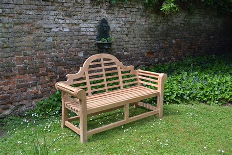 lutyens bench benches kent garden furniture