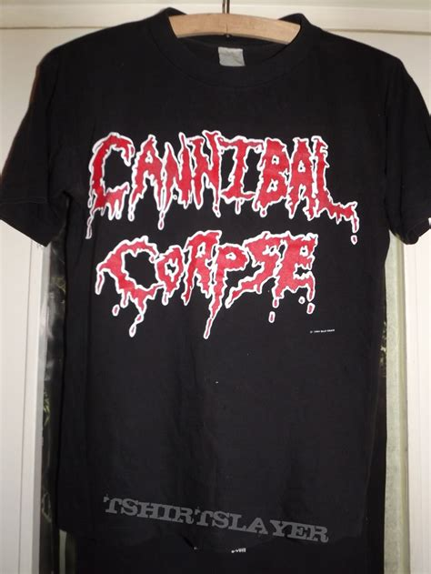 Tshirt Deat Note Europen cannibal corpse butchered at birth 1994 european tour