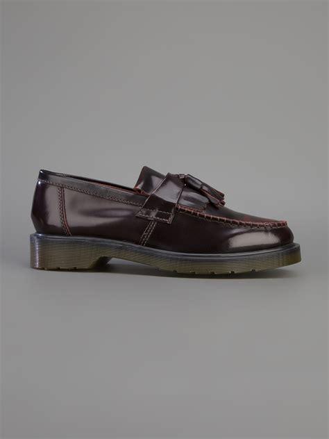 dr martens adrian loafer lyst dr martens adrian loafer in black