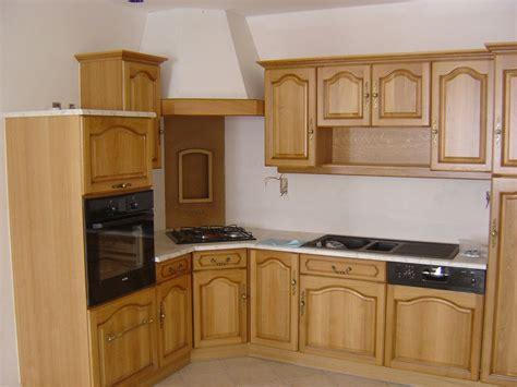cuisine en bois massif moderne le bois chez vous