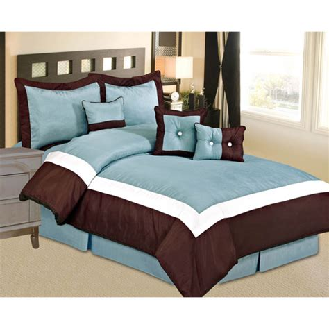 at home hilton bedding comforter set walmart com