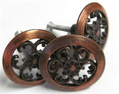 farmhouse kitchen cabinet hardware wonderful copper drawer pulls vintage copper drawer pulls hardware by