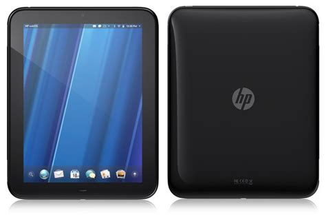 hp drops price  touchpad    compete  ipad