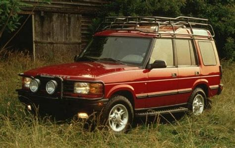 land rover 1998 1998 land rover discovery information and photos